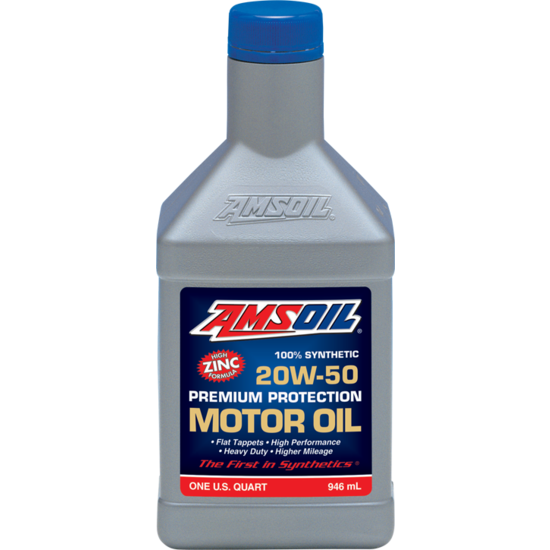 Premium Protection 20W-50 Synthetic Motor Oil