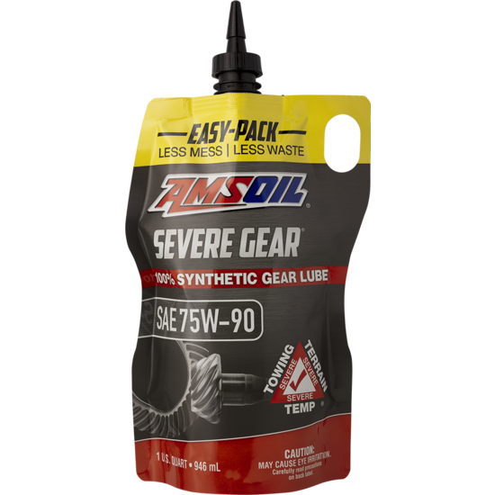 Severe Gear SAE 75W90 Synthetic Gear Lube - Easy-Pack 946ml
