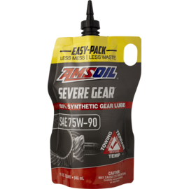 SEVERE GEAR SAE 75W90 GEAR LUBE - EASY PACK QUARTS