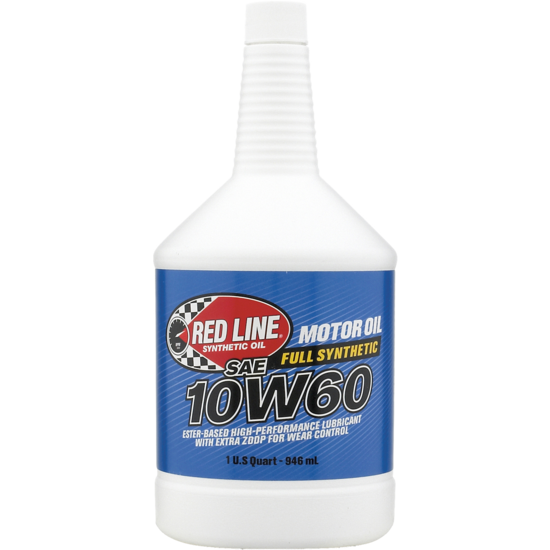 Red line Fully Synthetic 10W60 Motor Oil