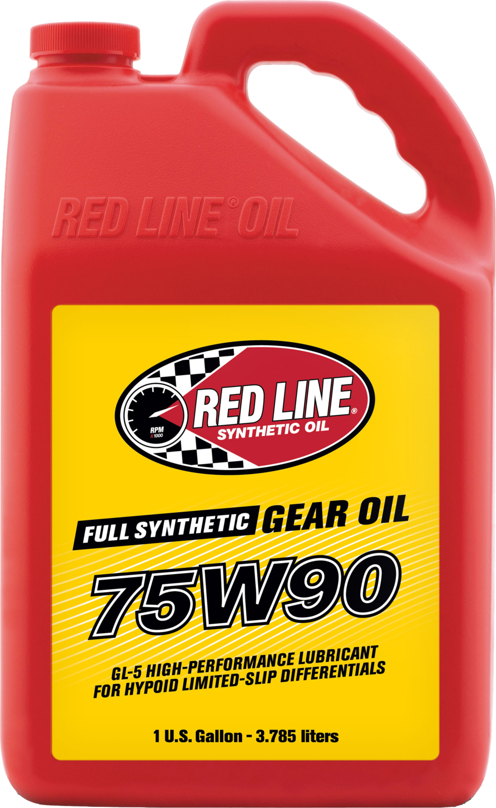 Red Line Fully Synthetic 75W90 GL-5 Gear Oil